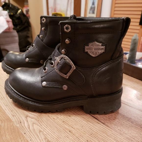 1e7789ba25b5 Harley-Davidson Shoes -  AUTHENTIC  Harley-Davidson Boots Sz 6.5 NWOT